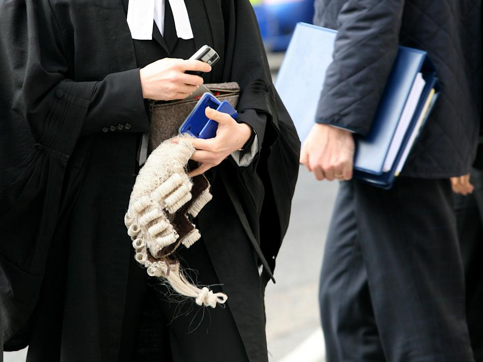 Barrister stock (PA Archive)