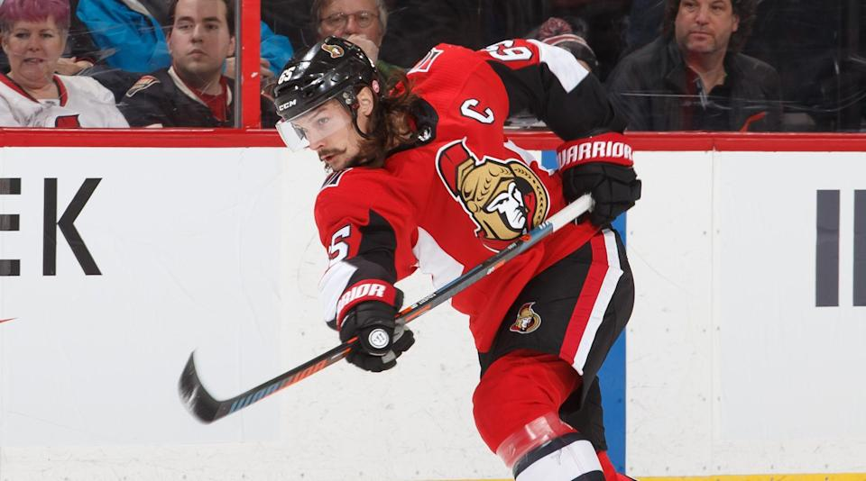 The Senators captain has scored at least 62 points in each of the last five seasons.