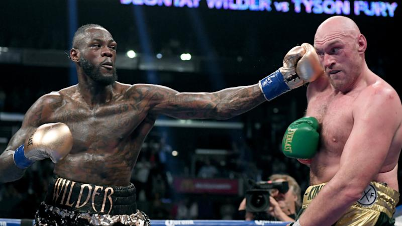 Tyson Fury wants Man Utd's Old Trafford home to host rematch with Deontay Wilder