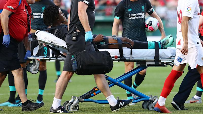 Gnagnon apolosies for 'odious' tackle on Liverpool's Larouci