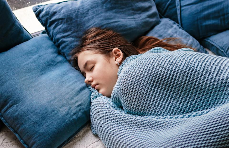 A lack of structure is prompting some adolescents to stay up late and sleep through the morning. (Photo: Getty Images stock)