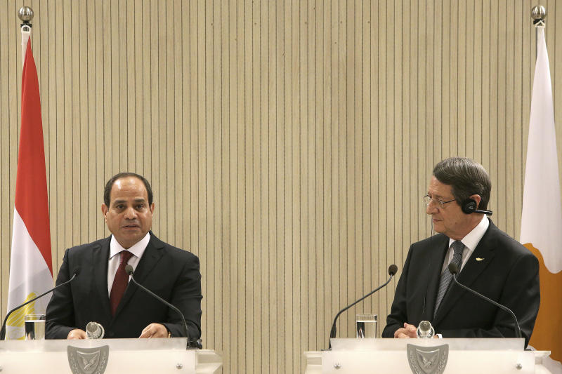 Egypt says gas discoveries can be EU's new energy source