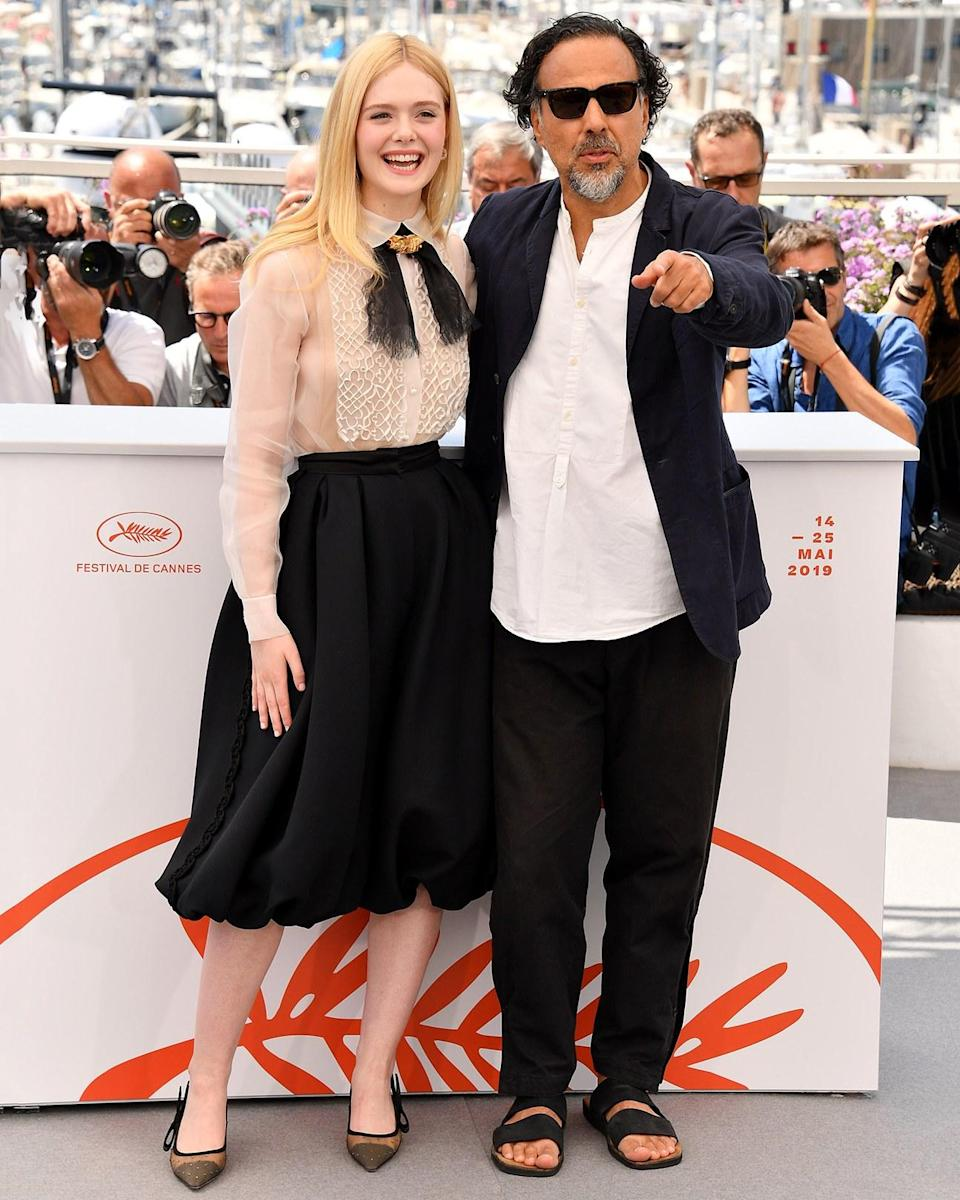 """<h1 class=""""title"""">May 14: Alejandro Iñárritu</h1> <div class=""""caption""""> Director Alejandro Iñárritu is the president of the Cannes jury—and the king of the tasteful sandal. </div> <cite class=""""credit"""">George Pimentel</cite>"""