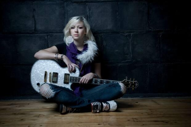 Regina-born musician Val Halla will be one of 23 performers in Sunday's International Women's Day virtual concert, hosted by SaskMusic.  (Submitted by Val Halla - image credit)