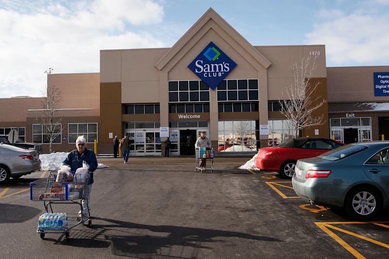 Sam's Club is renovating itself
