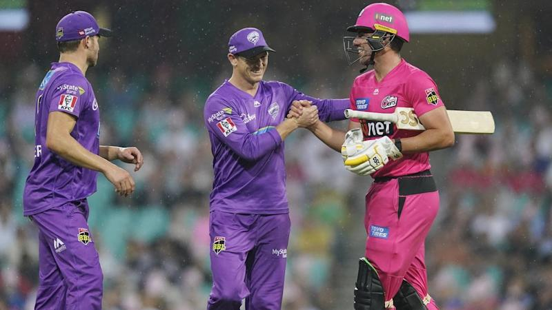 CRICKET BBL SIXERS HURRICANES