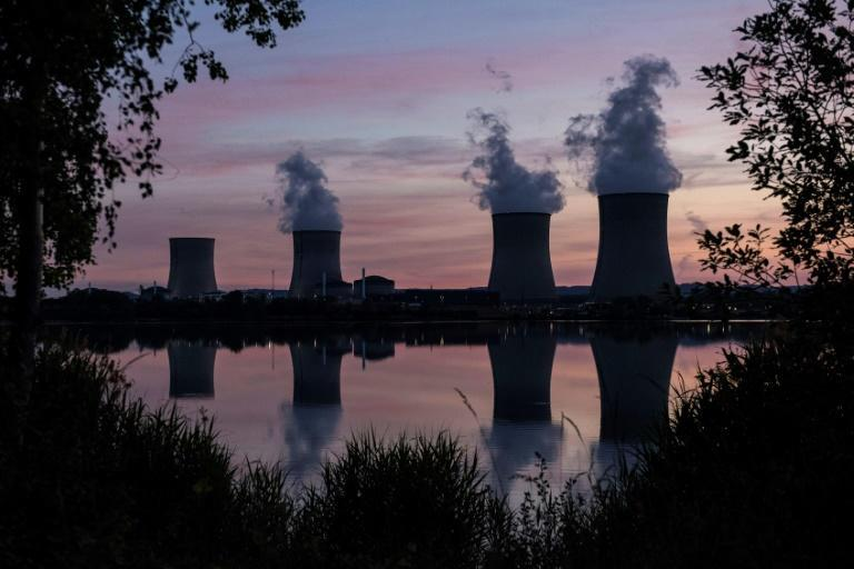 Nuclear plants such as Cattenom in France provide massive power loads with no direct emissions (AFP/SEBASTIEN BERDA)