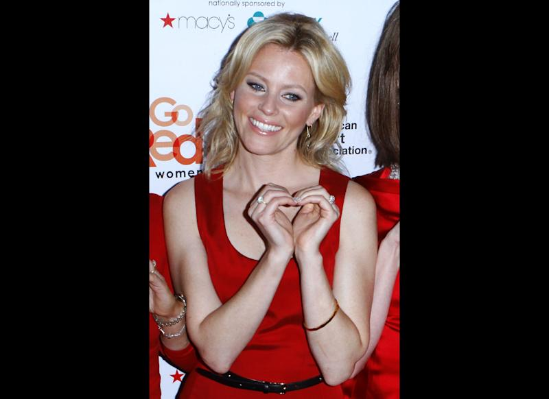 Elizabeth Banks attends the 'Just A Little Heart Attack' Premiere Party at Abe & Arthur's on September 13, 2011 in New York City. (Getty)