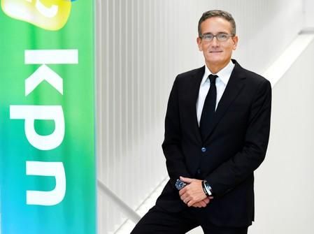 FILE PHOTO: CEO Maximo Ibarra from KPN poses after the presentation of the company's financial results for the fourth quarter and full year 2018 in Rotterdam