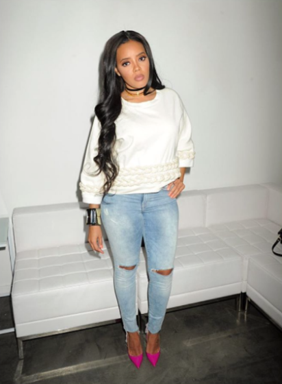 Much To Yo Gotti's Dismay, Angela Simmons Is Engaged