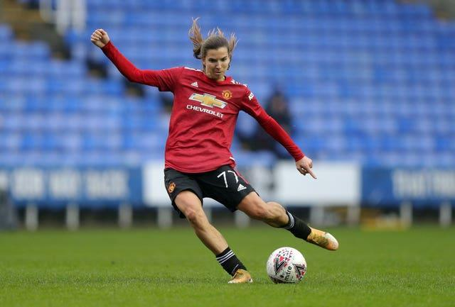 United's Tobin Heath has been sidelined by an ankle injury (Andrew Matthews/PA).