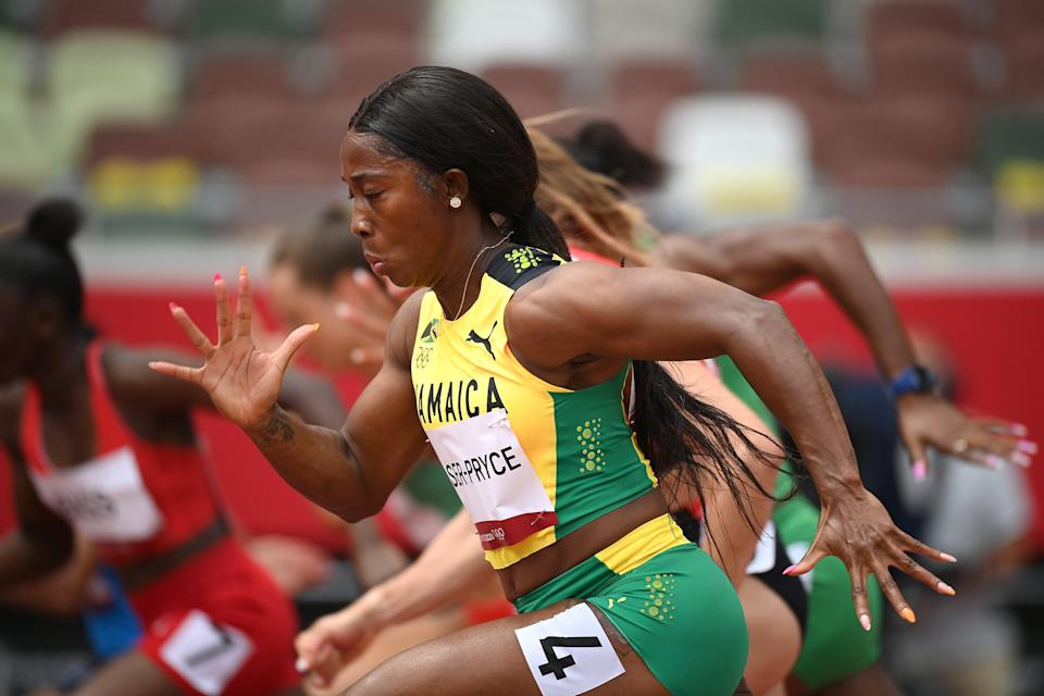Fraser-Pryce qualified for the semi-finals earlier today (Getty Images)