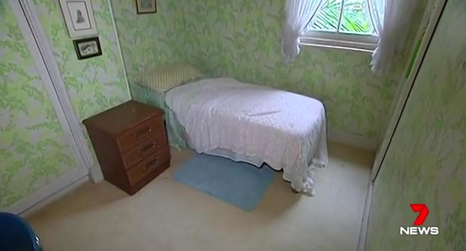The three-bedroom, one-bathroom terrace in Double Bay has not been touched in more than 50 years. Source: 7 News.