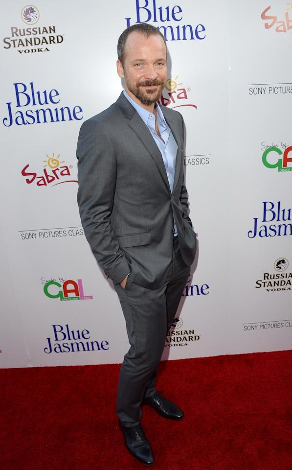 BEVERLY HILLS, CA - JULY 24: Actor Peter Sarsgaard arrives at the premiere of 'Blue Jasmine' hosted by AFI & Sony Picture Classics at AMPAS Samuel Goldwyn Theater on July 24, 2013 in Beverly Hills, California. (Photo by Jason Merritt/Getty Images)
