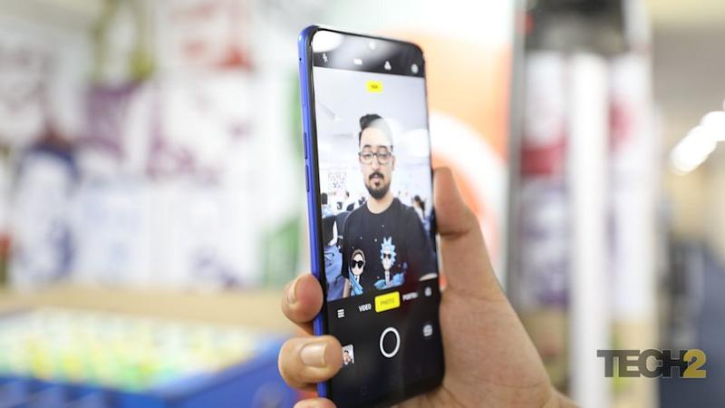 The Realme 3 Pro has a great selfie camera.