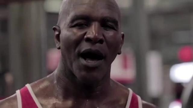 After Tyson, Holyfield teases boxing fans by releasing training video