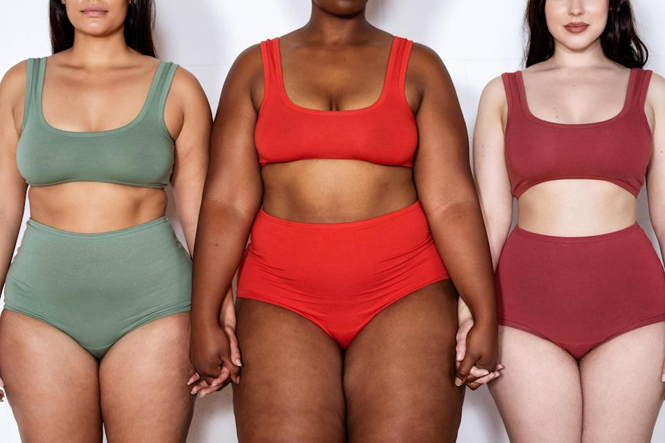 An image of three different women with different skin colors and body types