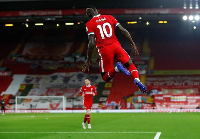 Mane the 2nd Liverpool player this week to contract virus