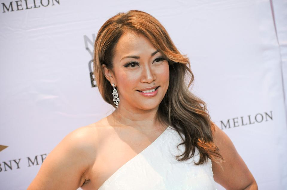 NEW YORK CITY, UNITED STATES - 2019/09/26: Carrie Ann Inaba attends the NYC Ballet Fall Fashion Gala held at Lincoln Center in New York City. (Photo by Efren Landaos/SOPA Images/LightRocket via Getty Images)