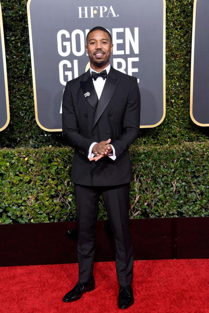 <p>Michael B. Jordan attends the 76th Annual Golden Globe Awards at the Beverly Hilton Hotel in Beverly Hills, Calif., on Jan. 6, 2019. (Photo: Getty Images) </p>