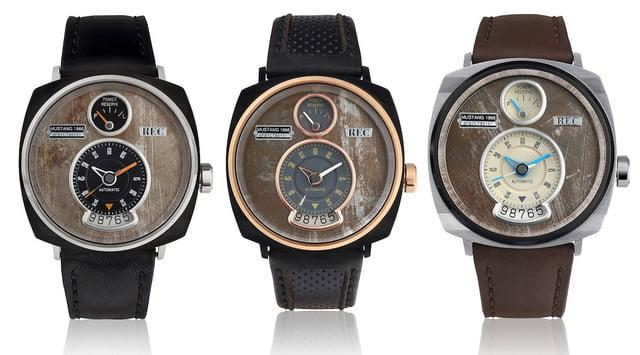These unique watches are made from the remains of '60s era