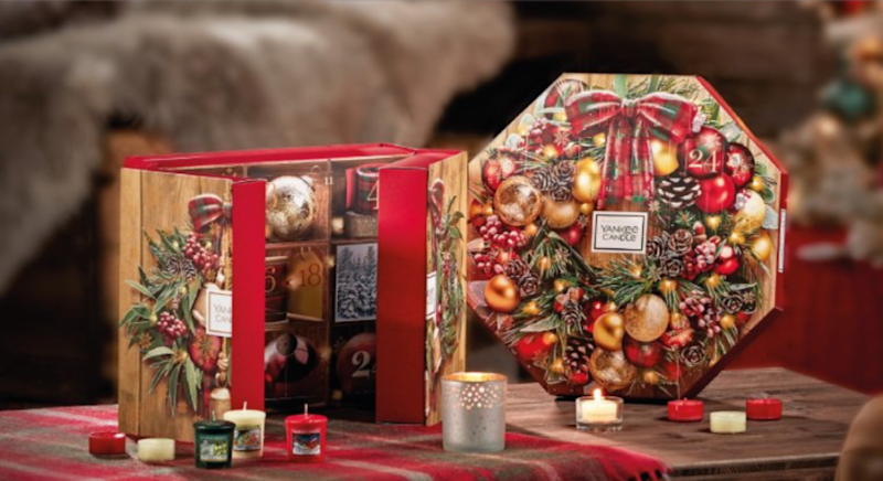 Yankee Candle has launched three new advent calendars for 2019. [Photo: Yankee Candle]