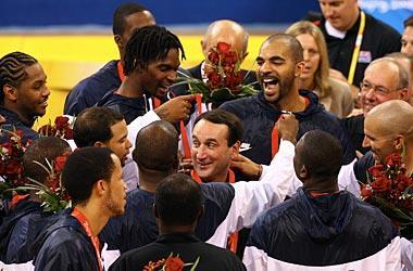Mike Krzyzewski led the U.S. to the Olympic gold medal in 2008