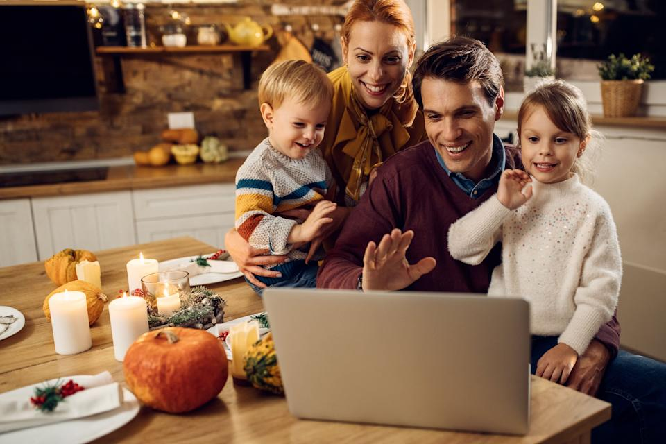 Experts suggest adapting family traditions so they can be carried out virtually. (Photo: Drazen Zigic via Getty Images)