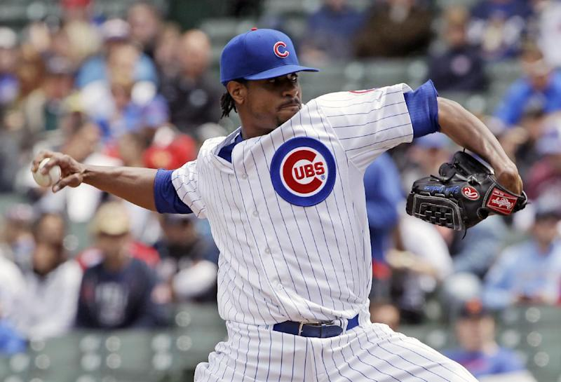 Cubs' Jackson shuts down Brewers for 7 in 3-0 win