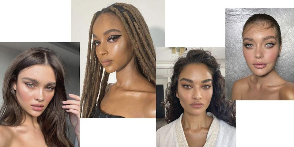"<p><strong>Nikki_Makeup's 2021 Twist: </strong></p><p>'In my opinion, everyone wants to be glowy and look healthy. I think this transition happened last year where people moved away from that super metallic highlight into something a little bit more grown up, I would say, a little bit more natural. It's more of a healthy looking, dewy glow that looks just like you've got your skincare on point rather than seeing too much product sitting on the skin.'</p><p><strong>Nikki_Makeup's Pro Tip: </strong></p><p>'The more layers of make-up there are, the more things are going to rub off. Which is why I always avoid applying foundation to any areas I'm going to put concealer. If you've got a layer of foundation and you're putting concealer on top, it's just another layer, so it's more likely to crease, move around and rub off.'</p><p><strong>Make It Work:</strong></p><p>'Using the right foundation, like Dior's Forever Skin Glow, means you can get that velvety skin texture that's not matte, and it's not shiny, it's more of a satin velvet finish and works really well with wearing masks.'</p><p>- Dior Forever Skin Glow Foundation - £37 <a class=""link rapid-noclick-resp"" href=""https://go.redirectingat.com?id=127X1599956&url=https%3A%2F%2Fwww.feelunique.com%2Fp%2FDIOR-Forever-Skin-Glow-Foundation-30ml&sref=https%3A%2F%2Fwww.elle.com%2Fuk%2Fbeauty%2Fmake-up%2Fg32005927%2Fmakeup-trends%2F"" rel=""nofollow noopener"" target=""_blank"" data-ylk=""slk:SHOP NOW"">SHOP NOW </a></p>"