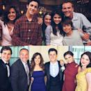 """<p>Selena Gomez gave us all the feels when she 'grammed this snap of her Wizards of Waverly Place reunion at TV big bro David Henrie's wedding. The star selected an ankle-length maroon number that we're immediately looking to recreate for our next wedding.</p><p><a href=""""https://www.instagram.com/p/BTPRqrwA-zk/"""" rel=""""nofollow noopener"""" target=""""_blank"""" data-ylk=""""slk:See the original post on Instagram"""" class=""""link rapid-noclick-resp"""">See the original post on Instagram</a></p>"""