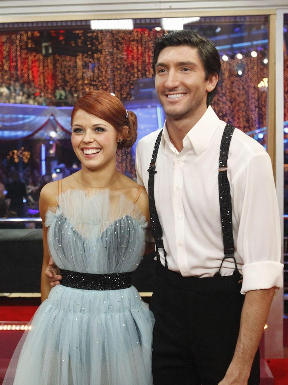 "<p>The Olympic skater broke two toes doing the jive in season 10, <em><a href=""https://www.nbcwashington.com/entertainment/television/Evan_Lysacek_Triumphs_Over_Broken_Toes_On__Dancing___Kate_Gosselin_Gets_Fierce.html"" rel=""nofollow noopener"" target=""_blank"" data-ylk=""slk:NBC Washington"" class=""link rapid-noclick-resp"">NBC Washington</a></em> reported. That wasn't the end of his injuries, he also suffered a mild concussion while training. Evan continued dancing and touring with the <em>Stars on Ice</em> show through the pain.</p>"