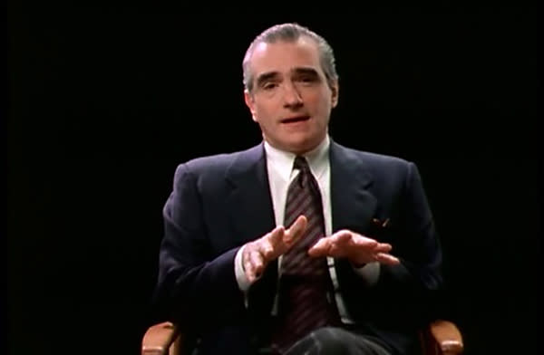Director talking movies that DID get made in 'A Personal Journey with Martin Scorsese Through American Movies,' 1995 (Photo: Miramax)