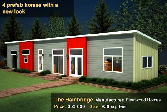 4 Prefab homes with a new look - The Bainbridge
