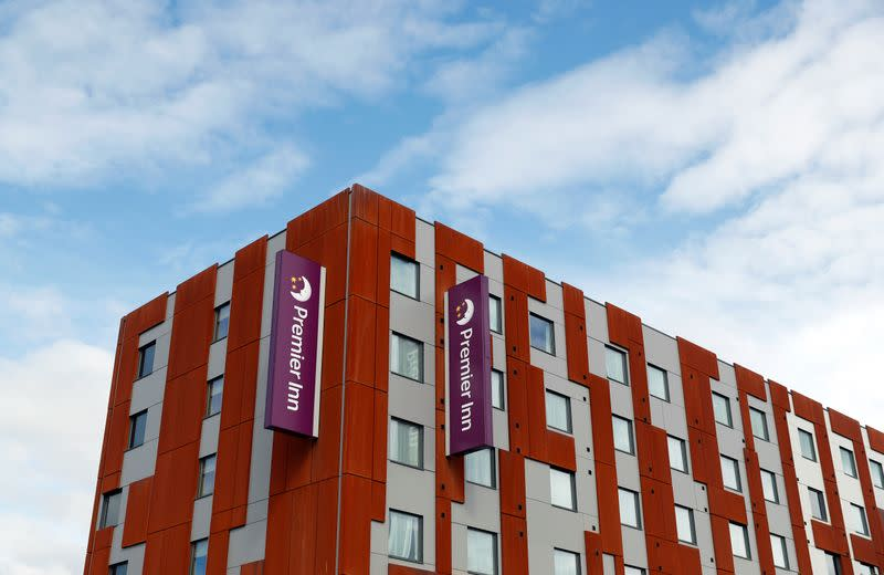 FILE PHOTO: Premier Inn hotel is pictured in Milton Keynes