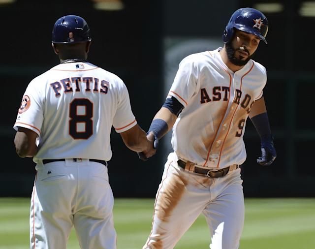 Utilityman Marwin Gonzalez has forced his way into the Houston lineup this season. (AP)