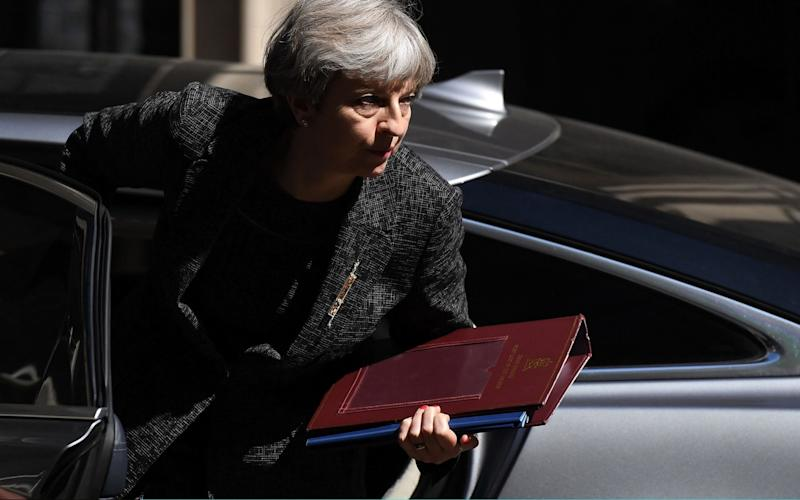 Theresa May, the Prime Minister - Getty Images