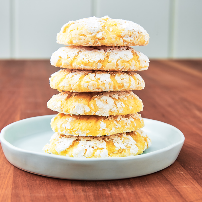 """<p>These cookies have the perfect balance of sweet and tart. It's the treat to make any day a little better. </p><p>Get the <a href=""""https://www.delish.com/uk/cooking/recipes/a32373802/lemon-butter-cookies-recipe/"""" rel=""""nofollow noopener"""" target=""""_blank"""" data-ylk=""""slk:Lemon Butter Cookies"""" class=""""link rapid-noclick-resp"""">Lemon Butter Cookies</a> recipe.</p>"""