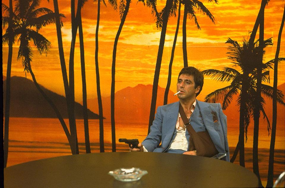 Luca Guadagigno says his Scarface remake will be very timely. (Image by Universal)