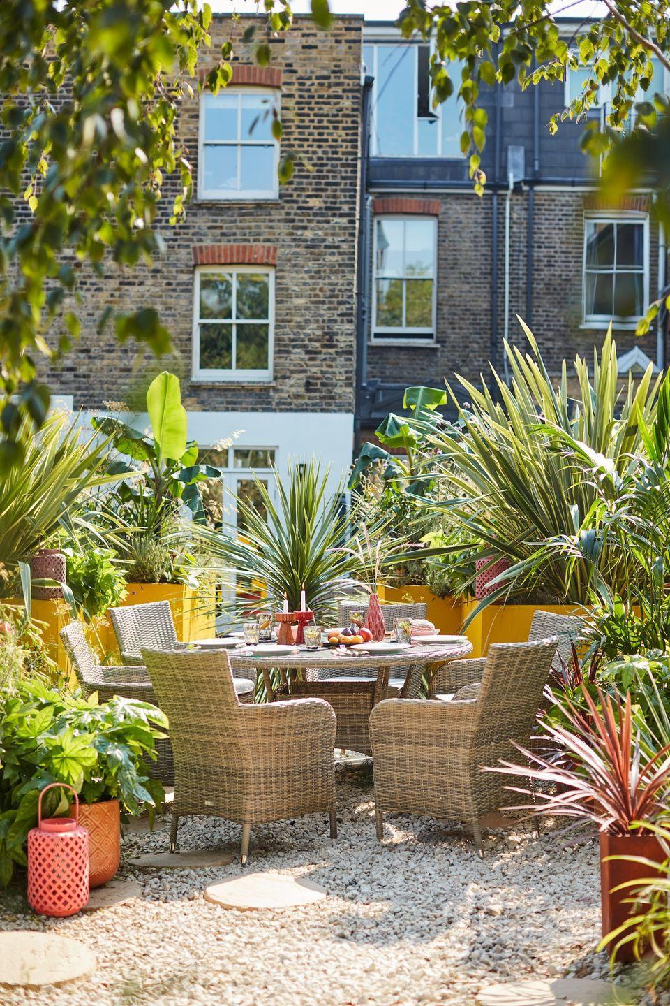 """<p>Rattan furniture sets are trending and they're perfect for outdoor spaces. From <a href=""""https://www.housebeautiful.com/uk/garden/g32181157/bistro-set/"""" rel=""""nofollow noopener"""" target=""""_blank"""" data-ylk=""""slk:bistro sets"""" class=""""link rapid-noclick-resp"""">bistro sets</a> to cosy corner sofas, stylish rattan is what every garden needs this year. </p><p>'Last year saw a huge spike in demand for rattan garden furniture, so it's no surprise that the trend has returned this year,' says Ryan Schwarze, Head of <a href=""""https://www.luxuryrattan.com/"""" rel=""""nofollow noopener"""" target=""""_blank"""" data-ylk=""""slk:Luxury Rattan"""" class=""""link rapid-noclick-resp"""">Luxury Rattan</a>.</p><p>'Modern rattan sets come in a variety of sizes and colours, they're also durable against the unpredictable British weather, making them a great high-quality, on-trend furniture option that will help you prepare your garden for summer in an instant.'</p><p><a href=""""https://www.dobbies.com/"""" rel=""""nofollow noopener"""" target=""""_blank"""" data-ylk=""""slk:Shop the full look at Dobbies"""" class=""""link rapid-noclick-resp"""">Shop the full look at Dobbies</a> </p><p><a class=""""link rapid-noclick-resp"""" href=""""https://www.housebeautiful.com/uk/garden/g21058049/outdoor-garden-furniture-sets/"""" rel=""""nofollow noopener"""" target=""""_blank"""" data-ylk=""""slk:READ MORE: BEST GARDEN FURNITURE"""">READ MORE: BEST GARDEN FURNITURE</a></p>"""