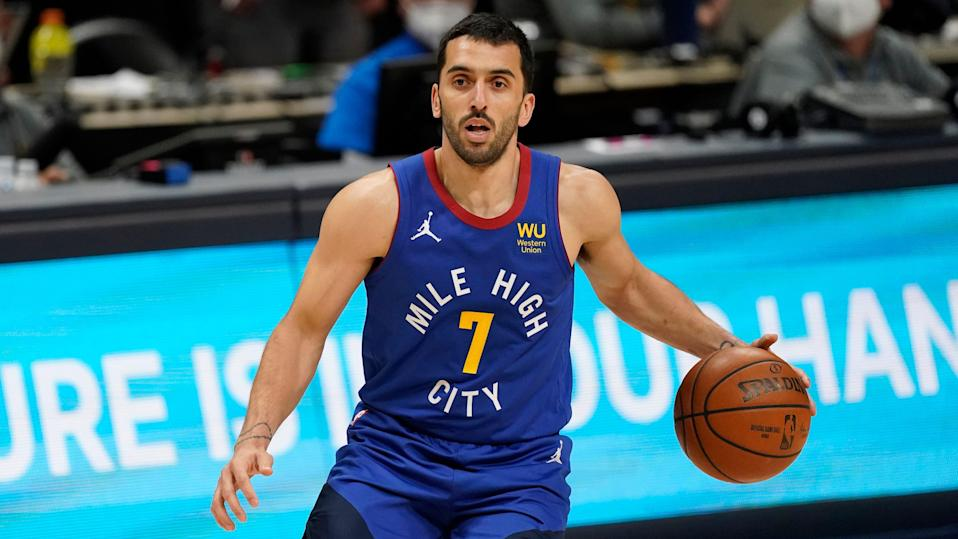 Facundo Campazzo became a starter for the Nuggets after the season-ending injury to Jamal Murray.