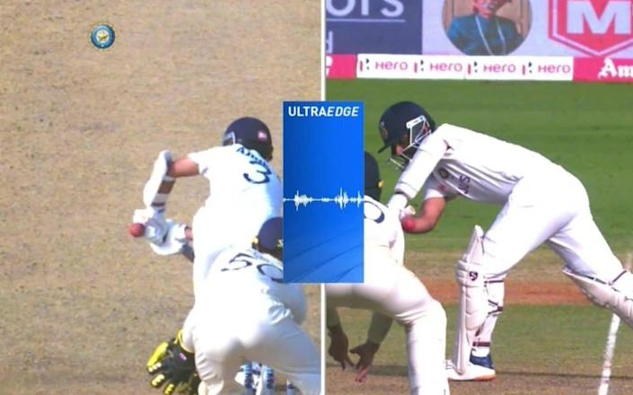 Rahane was lucky to survive after a third umpire blunder
