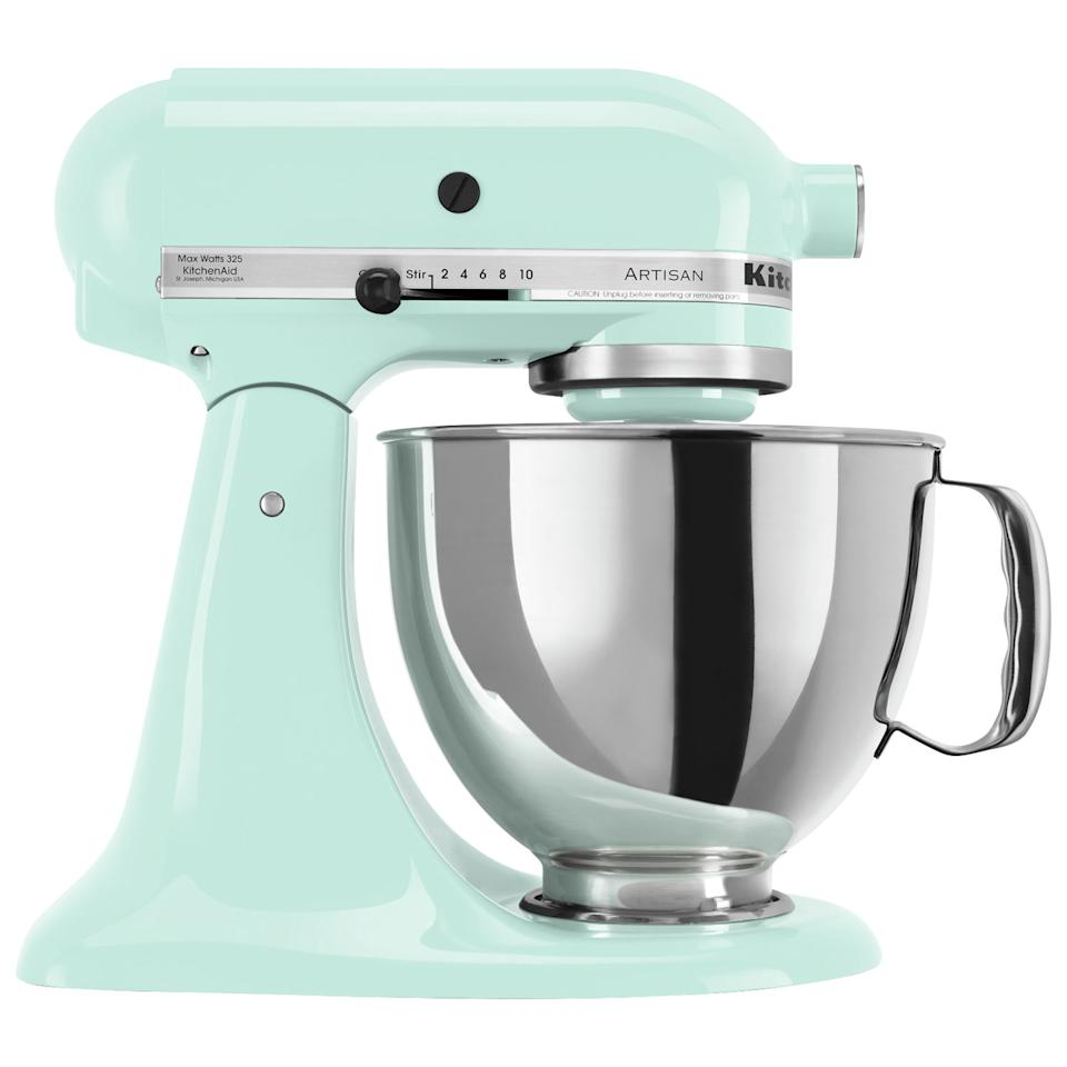 KitchenAid Artisan Tilt-Head Stand Mixer. Image via Best Buy.