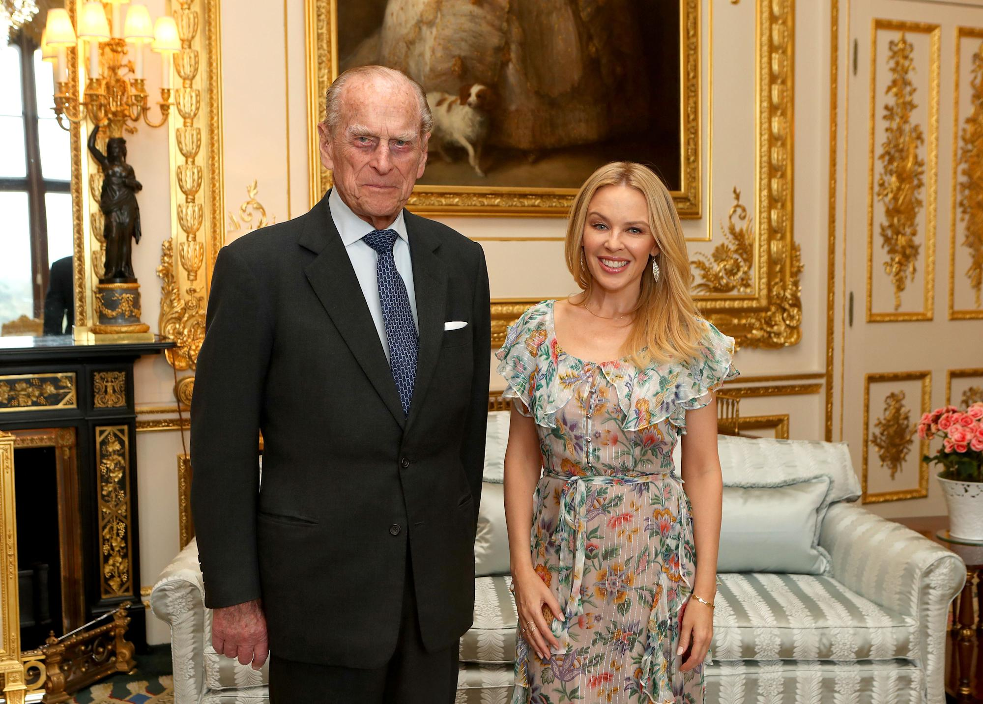 Kylie Minogue's touching tribute to late Prince Philip: 'RIP'