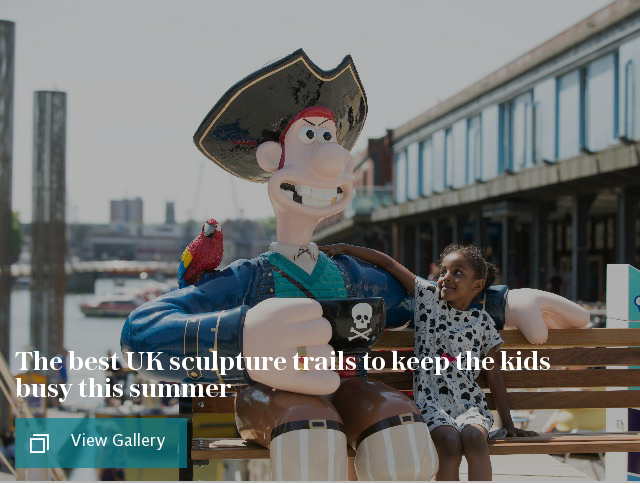 The best UK sculpture trails to keep the kids busy this summer
