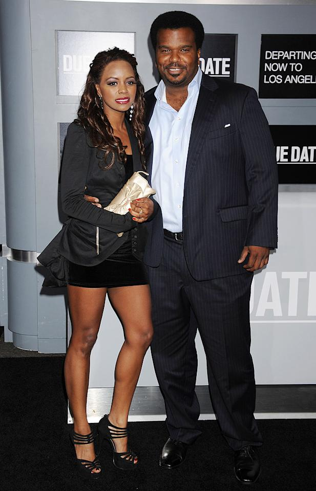 "<a href=""http://movies.yahoo.com/movie/contributor/1809113978"">Craig Robinson</a> and guest attend the Los Angeles premiere of <a href=""http://movies.yahoo.com/movie/1810116445/info"">Due Date</a> on October 28, 2010."