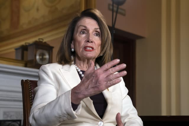 Irish border: Nancy Pelosi casts doubt on trade treaty