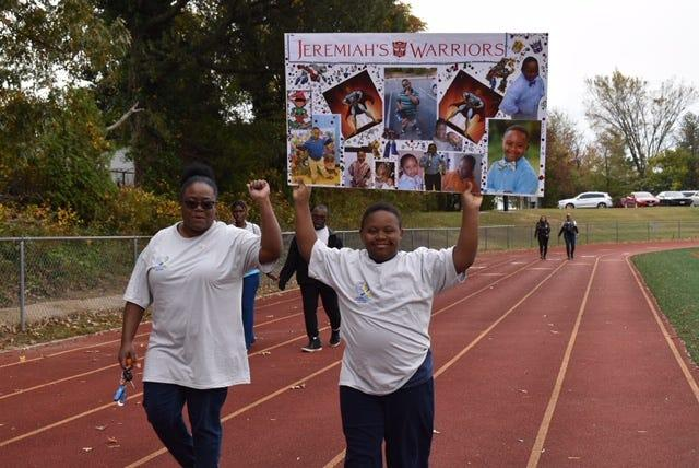 "Opal Foster and her 12-year-old son, Jeremiah, participated last fall in the Prince George's County Parents of Down syndrome ""Angel Walk,'' which aims to raise awareness. Foster was recently laid off because of the coronavirus outbreak."