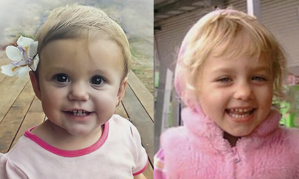Photos of Isabella and Summer who died after swallowing button batteries.
