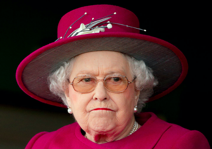 royal guard nearly shot the queen when he saw her strolling round